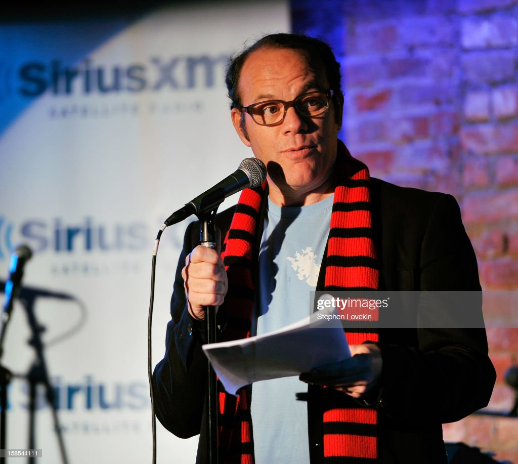 Comedian/host Tom Papa attends a special Christmas edition of SirusXM's 'Come To Papa' his 'Raw Dog' comedy show on SiriusXM at Village Underground on December 18, 2012 in New York City.