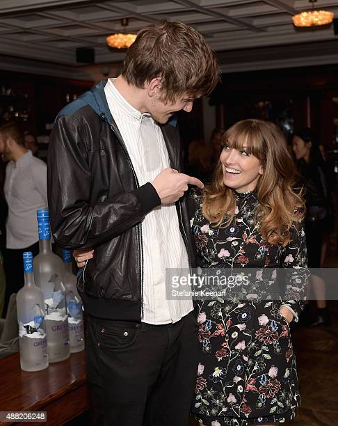 Comedian/musician Bo Burnham and director Lorene Scafaria attend The Meddler TIFF party hosted by GREY GOOSE Vodka and Soho Toronto at Soho House...