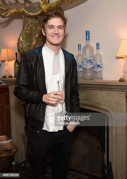 Comedian/musician Bo Burnham attends The Meddler TIFF party hosted by GREY GOOSE Vodka and Soho Toronto at Soho House Toronto on September 14 2015 in...