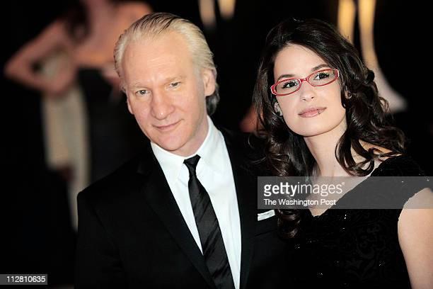 Comedian/pundit Bill Maher brought girlfriend Cara Santa Maria east for this year's dinner