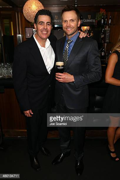 Comedians Adam Carolla and Joel McHale attend Variety's 4th Annual Power of Comedy presented by Xbox One benefiting the Noreen Fraser Foundation at...