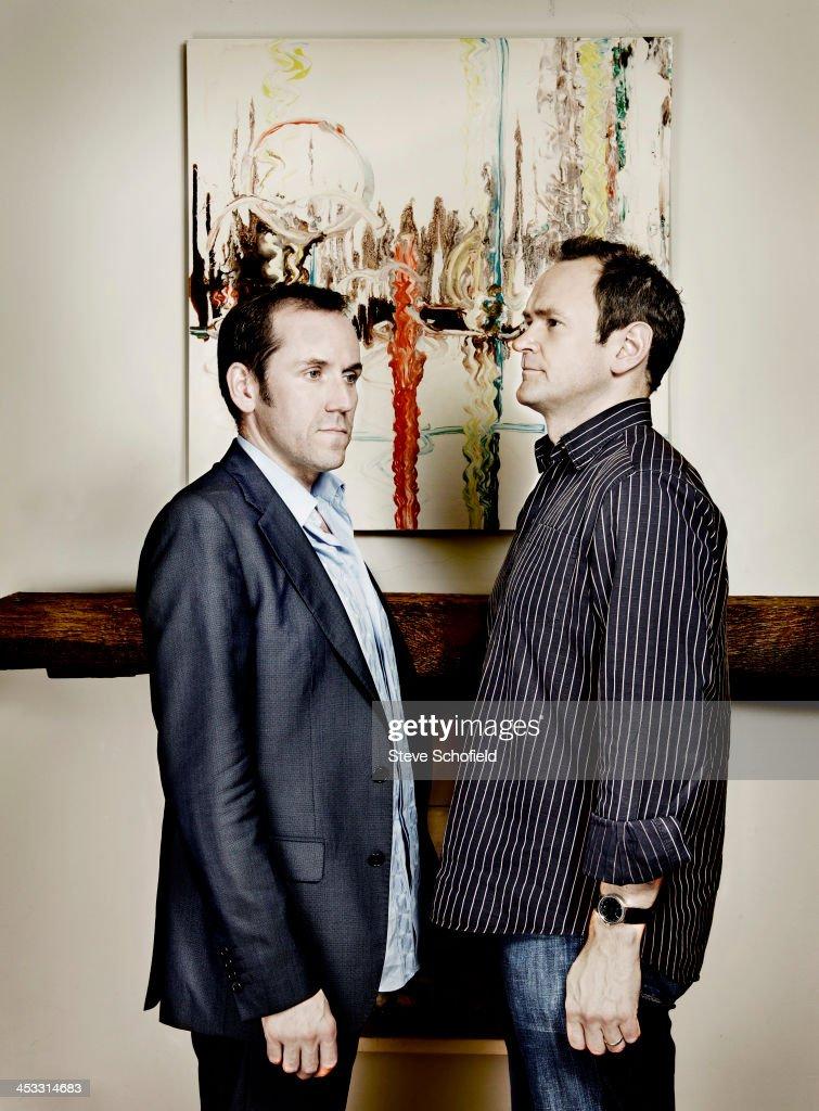 Alexander Armstrong & Ben Miller, Portrait shoot, October 10, 2009
