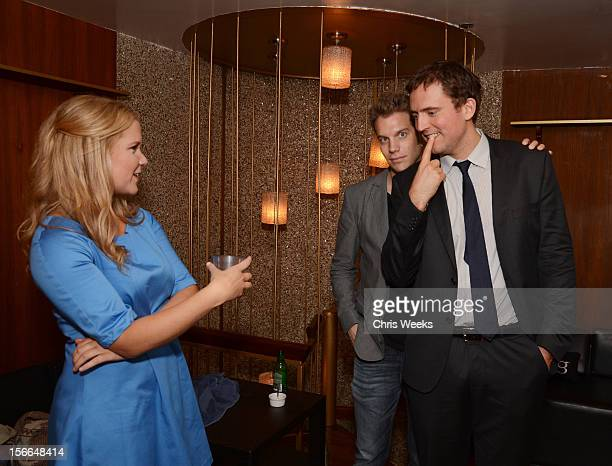 Comedians Amy Schumer Anthony Jeselnik and Owen Benjamin attend Variety's 3rd annual Power of Comedy event presented by Bing benefiting the Noreen...