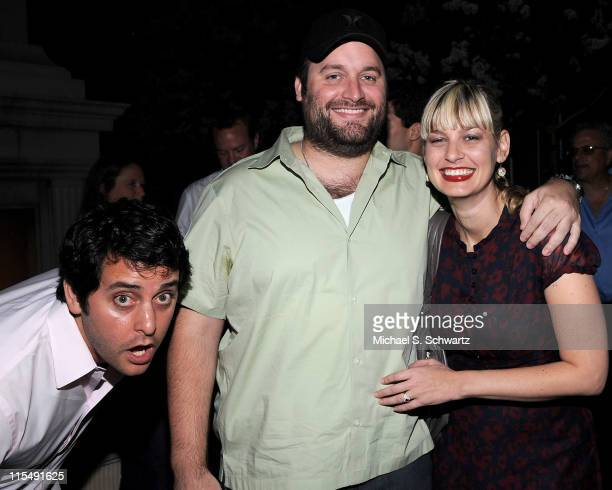 Comedians Ben Gleib Tom Segura and Christina Pazsitzky attend Comedian Ben Gleib's 30th Birthday Party on June 19 2008 at Boulevard 3 in Hollywood...