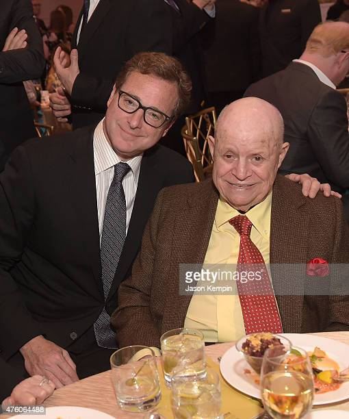 Comedians Bob Saget and Don Rickles attend the 'Cool Comedy Hot Cuisine' To Benefit The Scleroderma Research Foundation benefit at the Beverly...