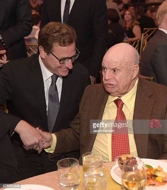 Comedians Bob Saget and Don Rickles attend the Cool Comedy Hot Cuisine To Benefit The Scleroderma Research Foundation benefit at the Beverly Wilshire...