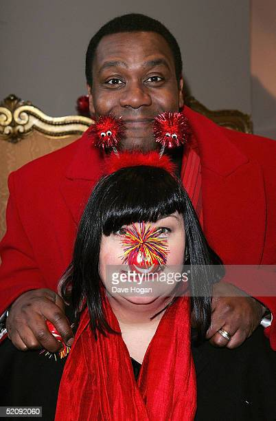 Comedians Dawn French and Lenny Henry attend the Comic Relief Press Launch at The Hospital Project on February 1 2005 in London EnglandThis year's...