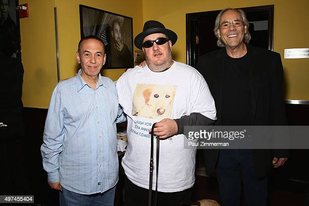 Comedians Gilbert Gottfried, Laugh For Sight Founder Brian Fischler, and Robert Klein attend the 10th Annual Laugh For Sight NYC All-Star Comedy...