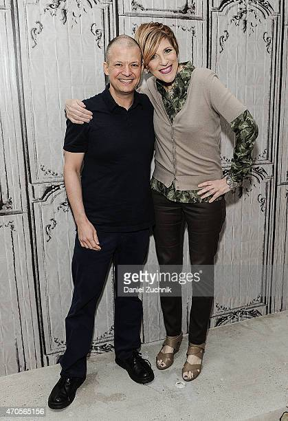 Comedians Jim Norton and Lisa Lampanelli attend the AOL Build Speakers Series: Jim Norton at AOL Studios In New York on April 21, 2015 in New York...