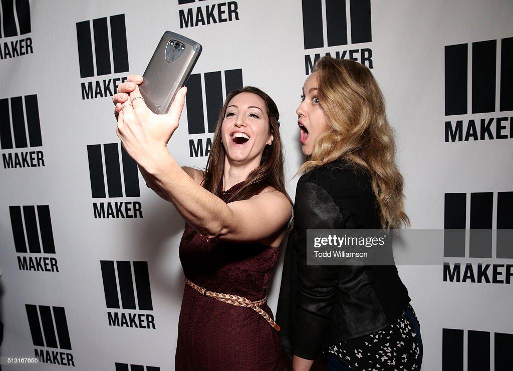 Maker Studios' SPARK Premiere - Red Carpet : News Photo