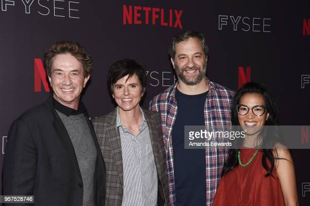 Comedians Martin Short Tig Notaro Judd Apatow and Ali Wong arrive at the #NETFLIXFYSEE Neflix Is A Joke A Celebration of Netflix StandUp FYC Event at...