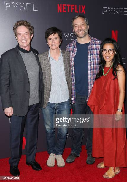Comedians Martin Short Tig Notaro Judd Apatow and Ali Wong attend the #NETFLIXFYSEE 'Neflix Is A Joke' at Netflix FYSEE At Raleigh Studios on May 11...