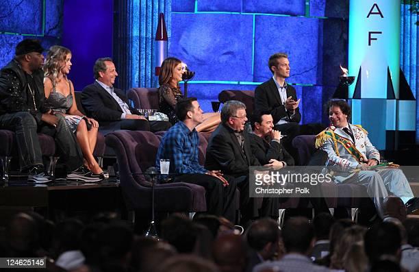 Comedians Patrice O'Neal Amy Schumer Jon Lovitz TV personality SteveO actress Kate Walsh actor William Shatner roast master Seth MacFarlane comedians...