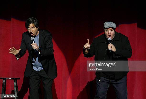 Comedians Ray Romano and Kevin James attend the International Myeloma Foundation's 2nd Annual Comedy Celebration benefitting The Peter Boyle Memorial...