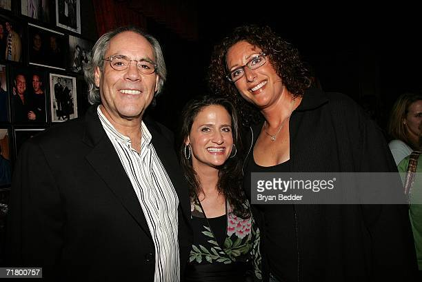 Comedians Robert Klein Judy Gold and Rodney Dangerfield's daughter Melanie RoyFriedman attend the Comedy Central special screening of Legends Rodney...