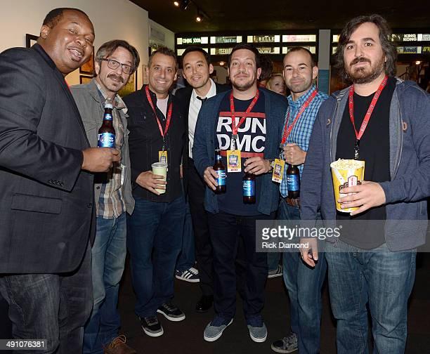 Comedians Roy Woods Jr Marc Maron Impractical Jokers member Joe Gatto Cast of Sullivan Sons member Steve Byrne Impractical Jokers members Sal Vulcano...