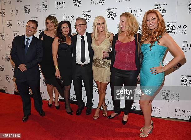 Comedians Tom Kelly Lynne Koplitz and Tammy Pescatelli Dan McCarthy his daughter actress/comedian Jenny McCarthy comedians Paula Bel and April Macie...