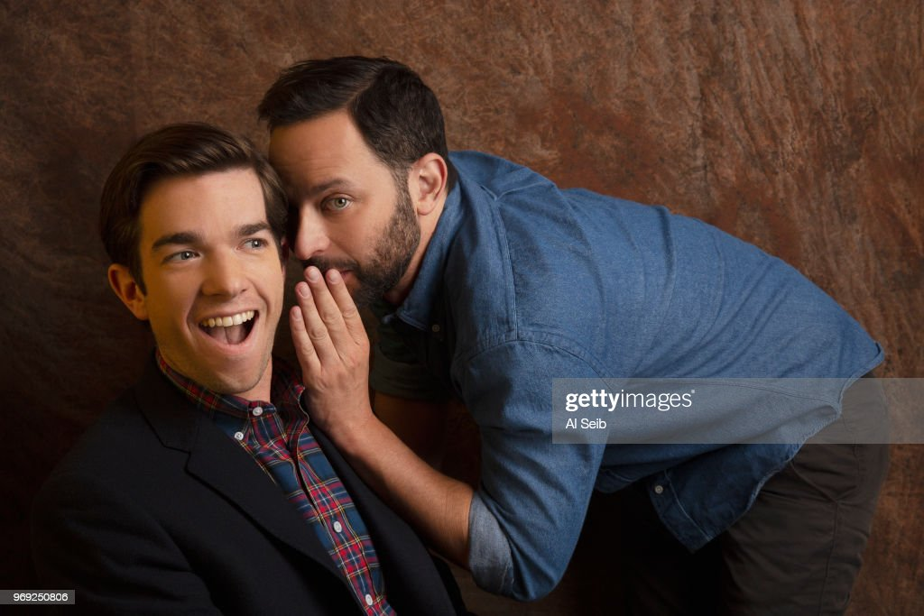 Nick Kroll and John Mulaney, Los Angeles Times, February 24, 2017 : News Photo