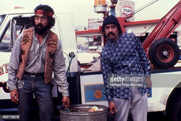 ComediansTommy Chong and Cheech Marin in a scene from the movie 'Cheech And Chong's Next Movie' in July 1980