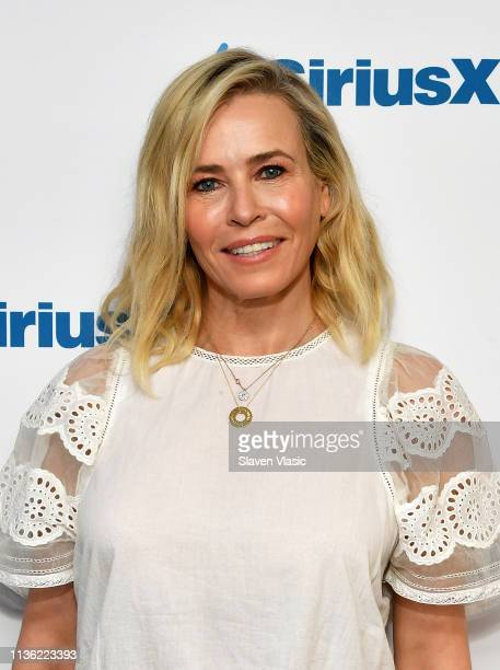 Comedian/TV host Chelsea Handler visits SiriusXM Studios on April 10 2019 in New York City