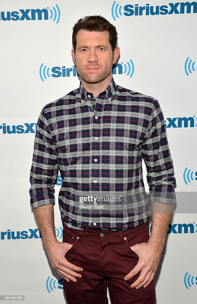 Comedian/TV personality Billy Eichner visits SiriusXM Studios on October 5, 2015 in New York City.