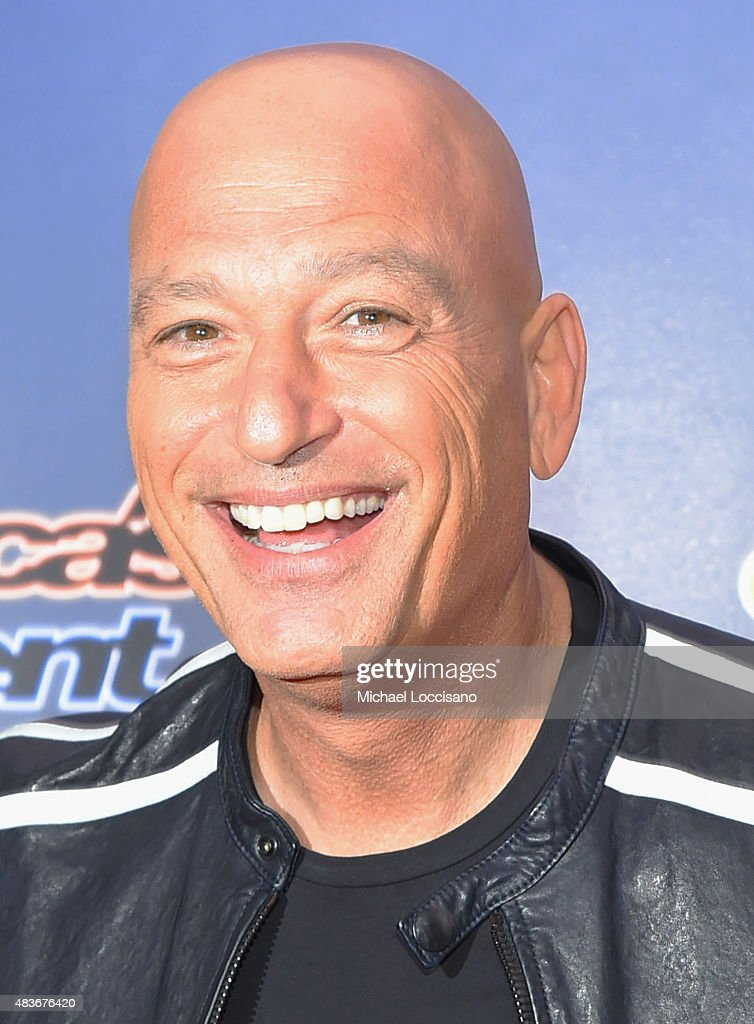 Comedian/TV personality Howie Mandel attends the 'America's Got Talent' season 10 taping at Radio City Music Hall on August 11, 2015 in New York City.