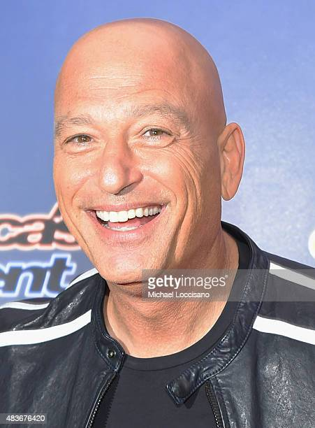Comedian/TV personality Howie Mandel attends the 'America's Got Talent' season 10 taping at Radio City Music Hall on August 11 2015 in New York City