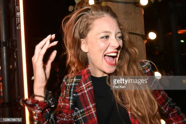 Comedian/TV presenter Cyrielle Joelle attends the Spritz Plazza Party at the 118 Warner on September 19 2018 in Paris France
