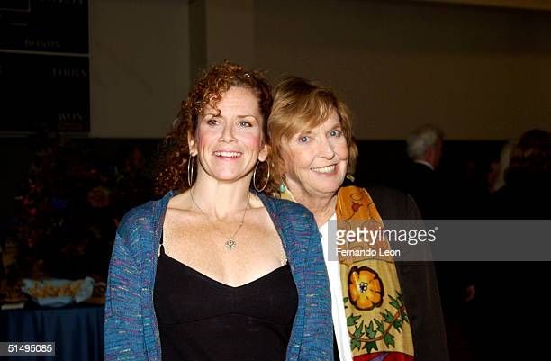 Comedic actress Anne Meara and her daughter actress/writer Amy Stiller attend the Calhoun School Dedication and Gala Benefit for the school's new...