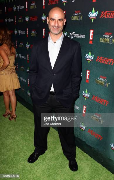 Comedien Brody Stevens arrives at Variety's Power Of Comedy Presented By The Sims 3 Benefiting The Noreen Fraser Foundation at Hollywood Palladium on...