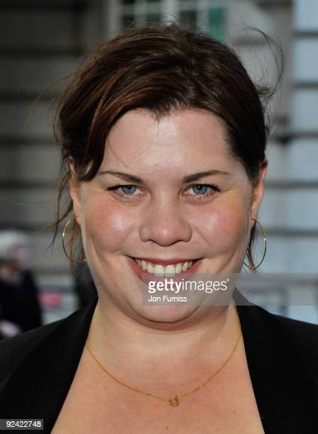 Comediene Katy Brand arrives at the 'Is Anybody There?' Gala Premiere at the Curzon Mayfair Cinema on April 29, 2009 in London, England.