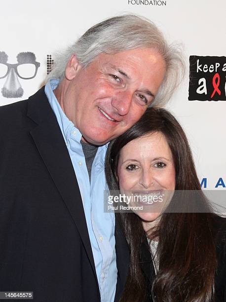 Comediene Wendy Liebman and husband Jeff Sherman attend the 10th Annual Night of Comedy to benefit the Children Affected by AIDS Foundation and Keep...
