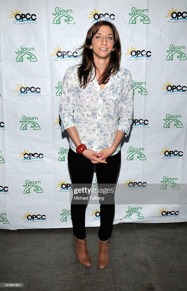 Comedienne Chelsea Peretti arrives at the Ocean Park Community Center's 4th Annual Comedy Night to combat domestic violence on June 4, 2010 in Santa Monica, California.