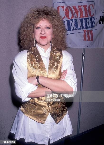 Comedienne Elayne Boosler attends the HBO Television Special Comic Relief III to Raise Money for America's Homeless on March 18 1989 at the Universal...