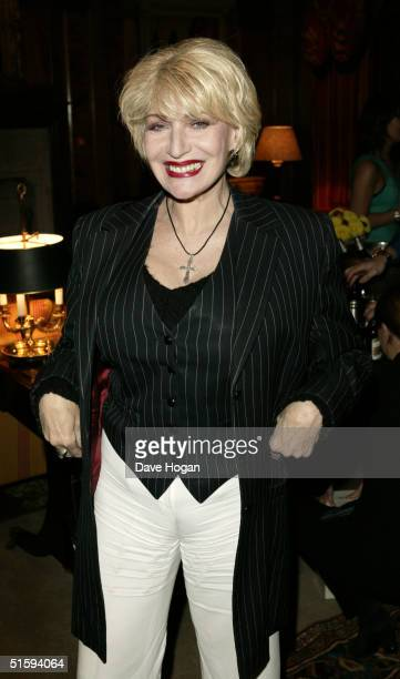 """Comedienne Faith Brown attends a private celebrity screening of """"The Grudge"""" on October 27, 2004 at The Covent Garden Hotel, in London. The movie is..."""