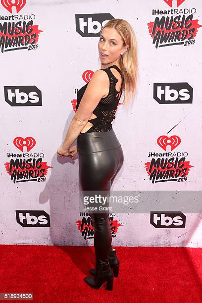 Comedienne Iliza Shlesinger attends the iHeartRadio Music Awards at The Forum on April 3 2016 in Inglewood California