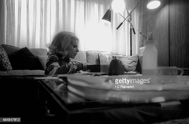 Comedienne Joan Rivers at home in November 1970 in New York City New York