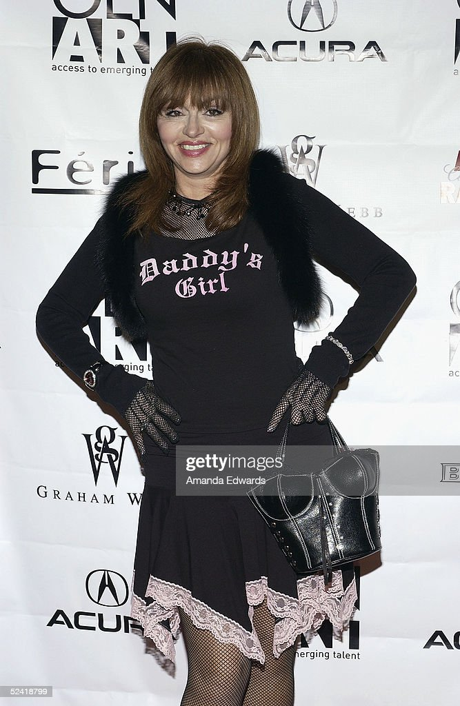 Comedienne Judy Tenuda arrives at the Gen-Art Fall 2005 LA Fashion Week Kick Off Party on March 14, 2005 at the MOCA Geffen Contemporary Museum in Los Angeles, California.
