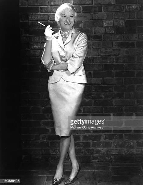 Comedienne Phyllis Diller poses for a portrait circa 1960
