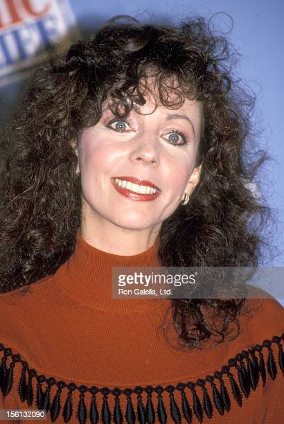 Comedienne Rita Rudner attends the Comic Relief '90 on May 12 1990 at Radio City Music Hall in New York City New York