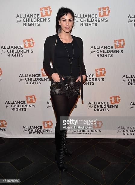 Comedienne Sarah Silverman attends The Alliance For Children's Rights' Right To Laugh Benefit at The Avalon on May 27, 2015 in Hollywood, California.