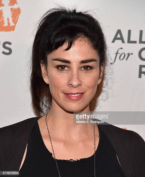 Comedienne Sarah Silverman attends The Alliance For Children's Rights' Right To Laugh Benefit at The Avalon on May 27 2015 in Hollywood California