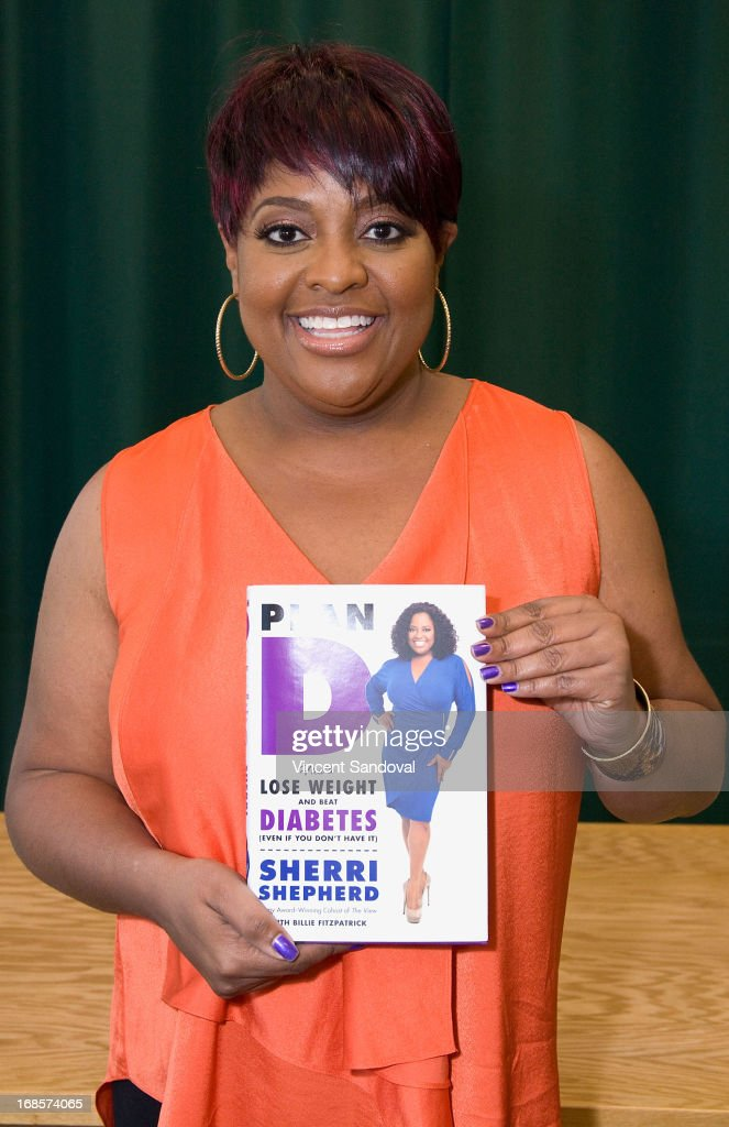 "Sherri Shepherd Signs Copies Of Her New Book ""Plan D: How To Lose Weight And Beat Diabetes """