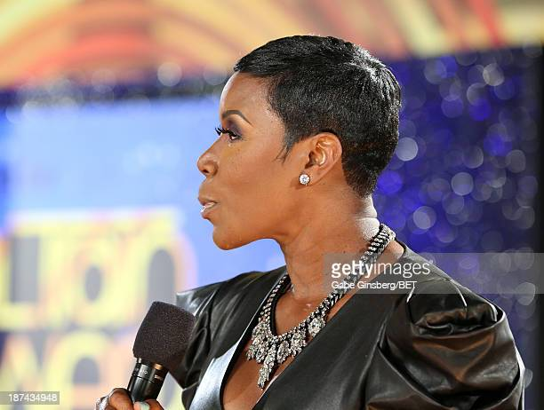 Comedienne Sommore attends the Soul Train Awards 2013 at the Orleans Arena on November 8 2013 in Las Vegas Nevada