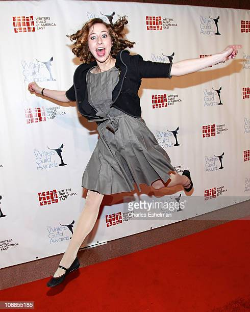 Comedienne/actress Kristen Schaal attends the 63rd Annual Writers Guild Awards New York ceremony at the AXA Equitable Center on February 5 2011 in...