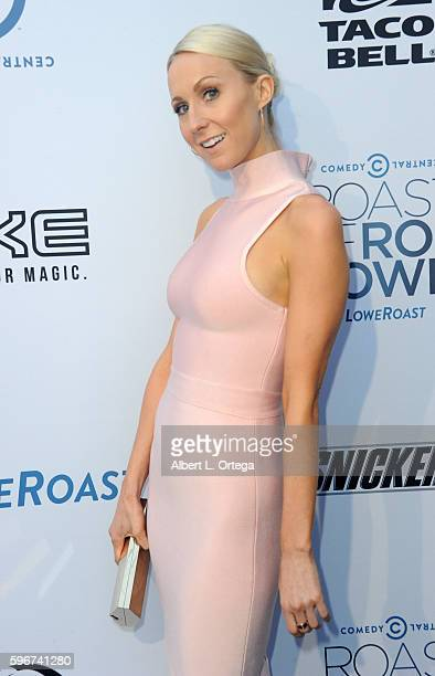 Comedienne/actress Nikki Glaser arrives for The Comedy Central Roast Of Rob Lowe held at Sony Studios on August 27 2016 in Los Angeles California