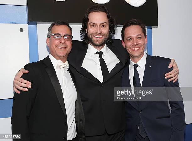 Comedy Central President of Content Development and Original Programming Kent Alterman comedian Chris D'Elia and Comedy Central VP of Specials Jonas...