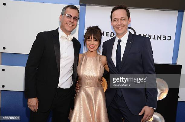 Comedy Central President of Content Development and Original Programming Kent Alterman actress Natasha Leggero and VP of Specials at Comedy Central...
