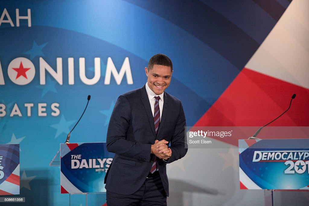 """Comedy Central's """"The Daily Show With Trevor Noah"""" Presents Podium Pandemonium - A Debate About Debates, New Hampshire Primary 2016 Event & Post-Reception"""