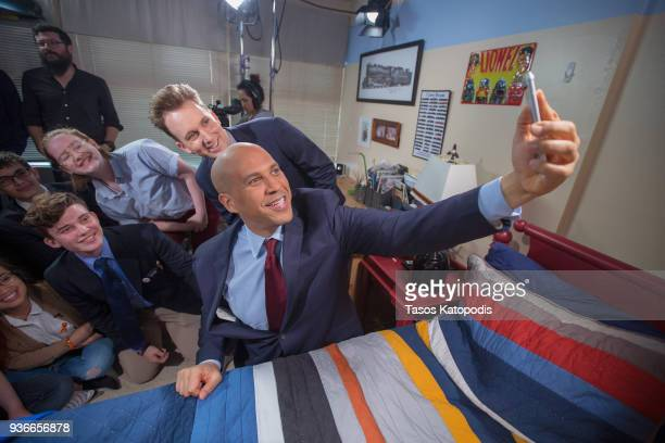 Comedy Central's The Opposition w/ Jordan Klepper tapes a special episode in Rockville MD titled The Opposition Chaperones Democracy Kids Just Wanna...